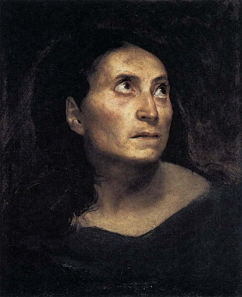 A Mad Woman (Eugene Delacroix 1822)